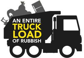 Icon with 'An entire truck load of rubbish'